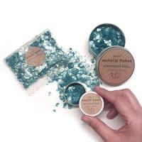 Mineral Mica Flakes - Ocean Blue
